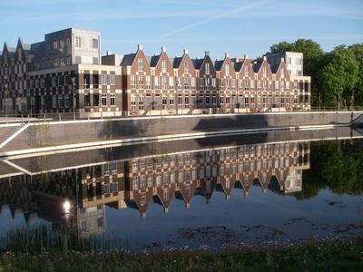 nieuw Doesburg met prachtige weerspiegeling