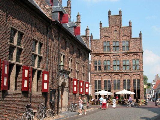 Stadhuis en de Waag