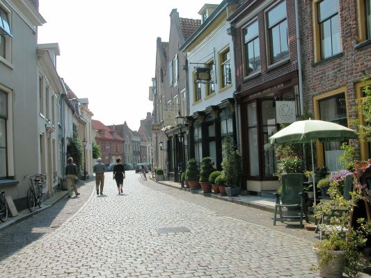 Straat in Doesburg