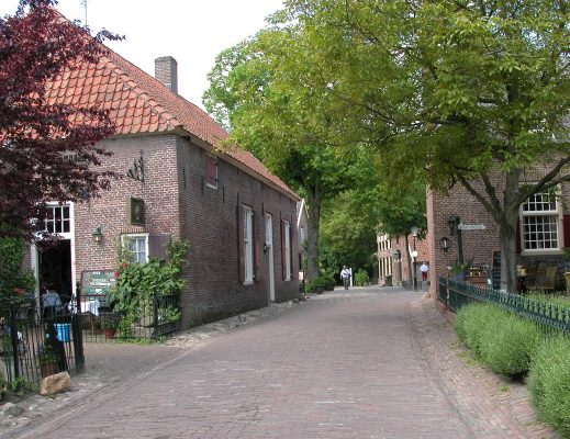 Straat in Bronkhorst